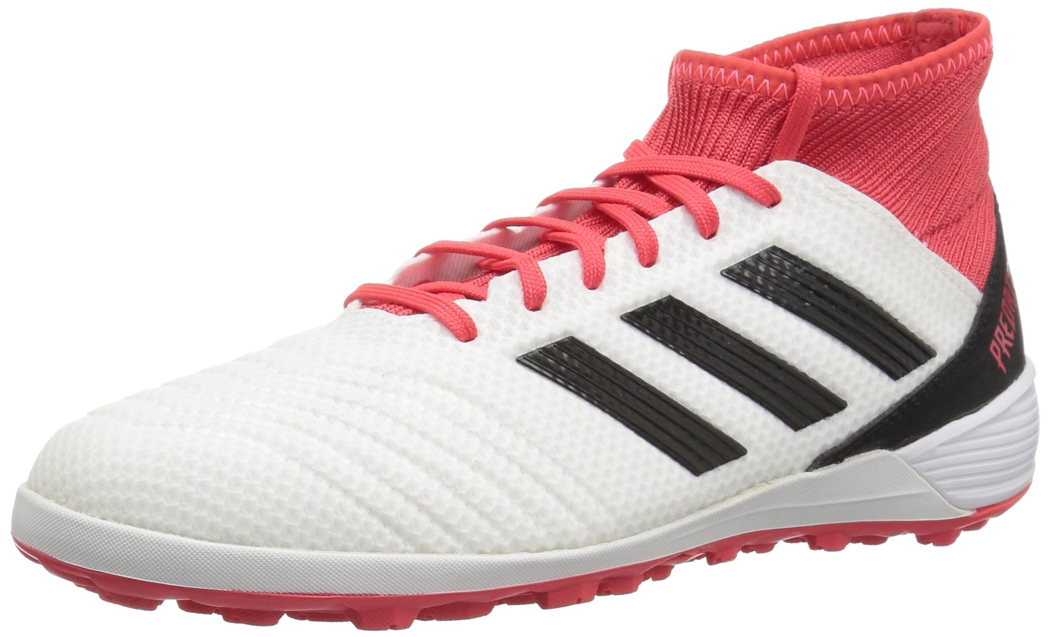 adidas Performance Unisex-Mens Ace Tango 18.3 TF, White/Core Black/Real Coral, 7 M US