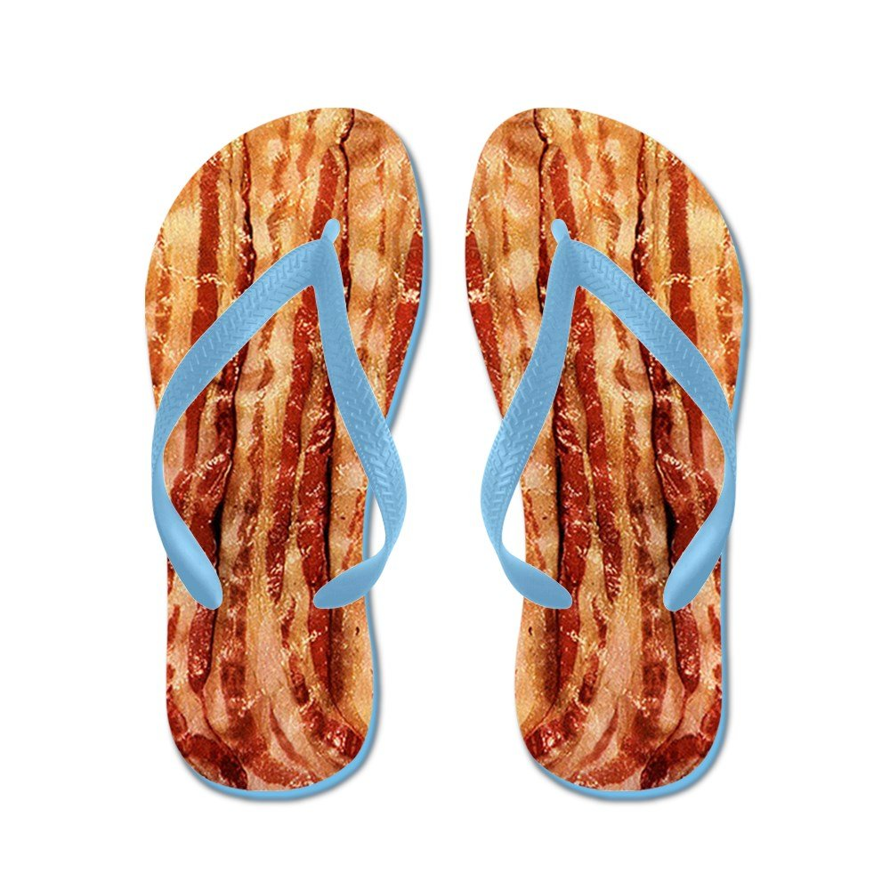 afbe0a7088160 Amazon.com   CafePress - Bacon - Flip Flops, Funny Thong Sandals ...