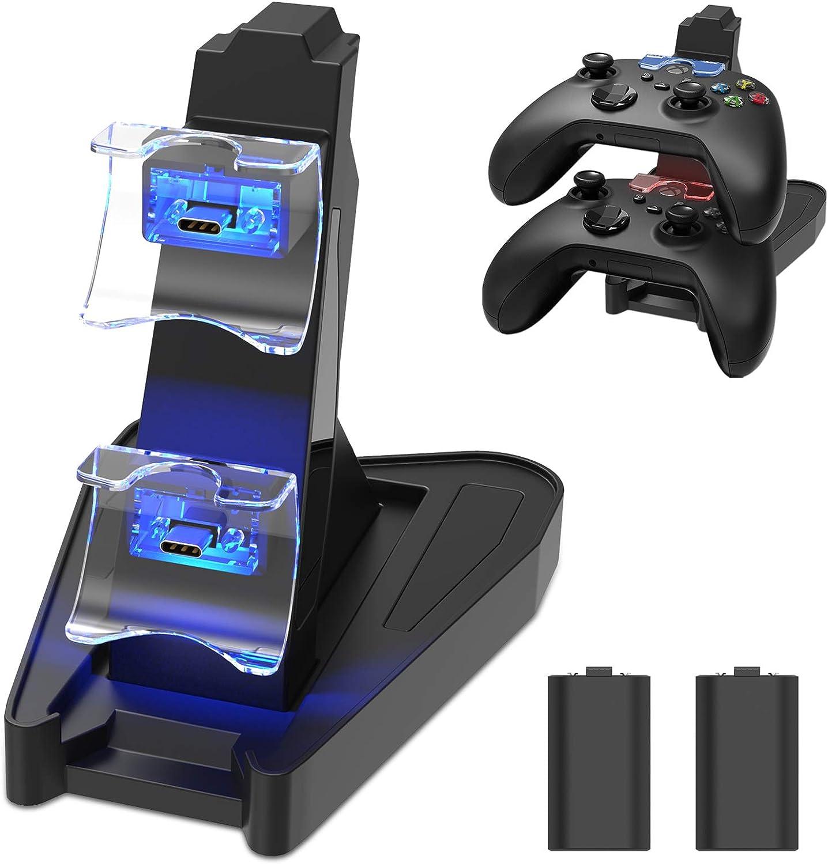 Cargador Dual Para Xbox Series X|s Con Baterias Recargables