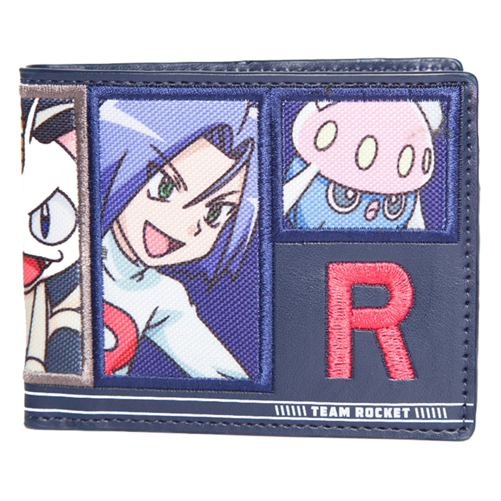 Pokèmon FEDMW290218POK Team Rocket - Cartera Plegable: Amazon.es ...
