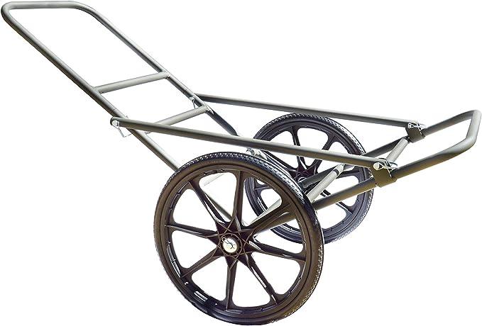 Aluminum Deer Cart Transport Gear Haul Folds Flat Hunting Outdoor Sport Haul New