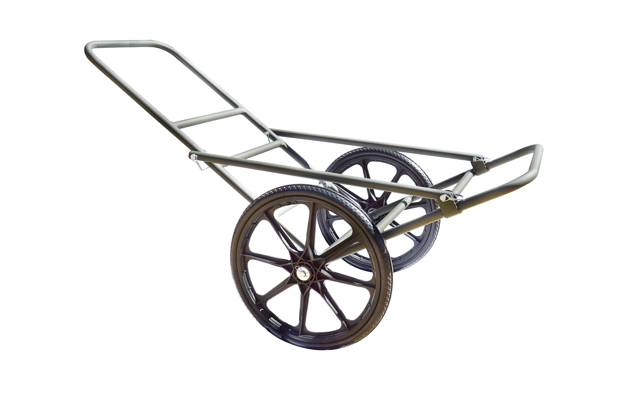 Sherpa Hunting Lightweight Aluminum Game Cart with 20'' Wheels