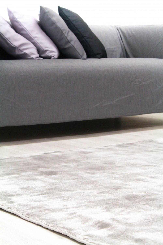 Trendcarpet Viskose-Teppich - Jodhpur Special Luxury Edition Edition Edition (grau) Größe 140 x 200 cm 0fc2a6