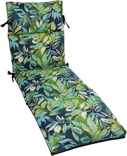 Comfort Classics Inc. Spun Polyester Outdoor CHANNELED Reversible Chaise Cushion