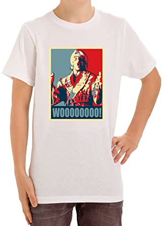 8d4a6d6318d Ric Flair Nature Boy Poster Wooo Funny Kids Unisex T-shirt Ages 5-13  X-Large  Amazon.co.uk  Clothing