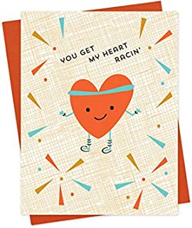 product image for Racin' Heart Love Card by Night Owl Paper Goods