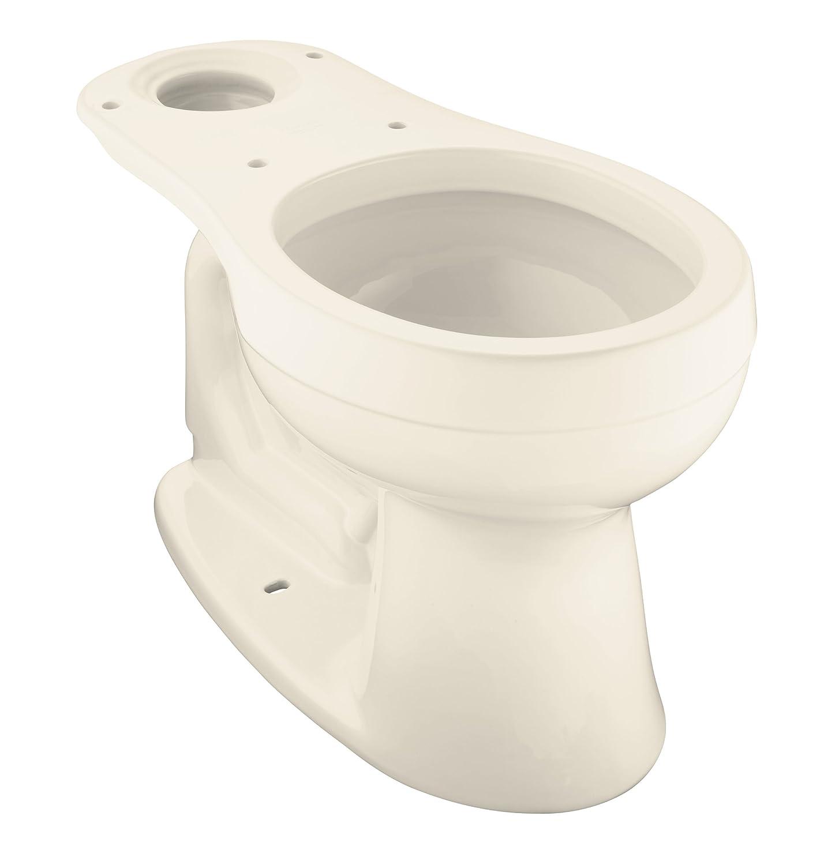 KOHLER K-4287-47 Cimarron Round-Front Toilet Bowl, Less Seat, Almond ...