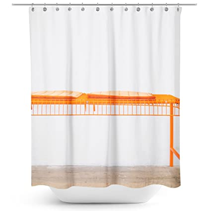 Westlake Art   Furniture Bench   Fabric Printed Shower Curtain   Picture  Photography Waterproof Mildew Resistant