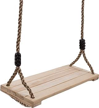 Hey! Play! 80-SA-062 Wooden Swing