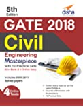 GATE 2018 Civil Engineering Masterpiece with 10 Practice Sets (6 in Book + 4 Online)