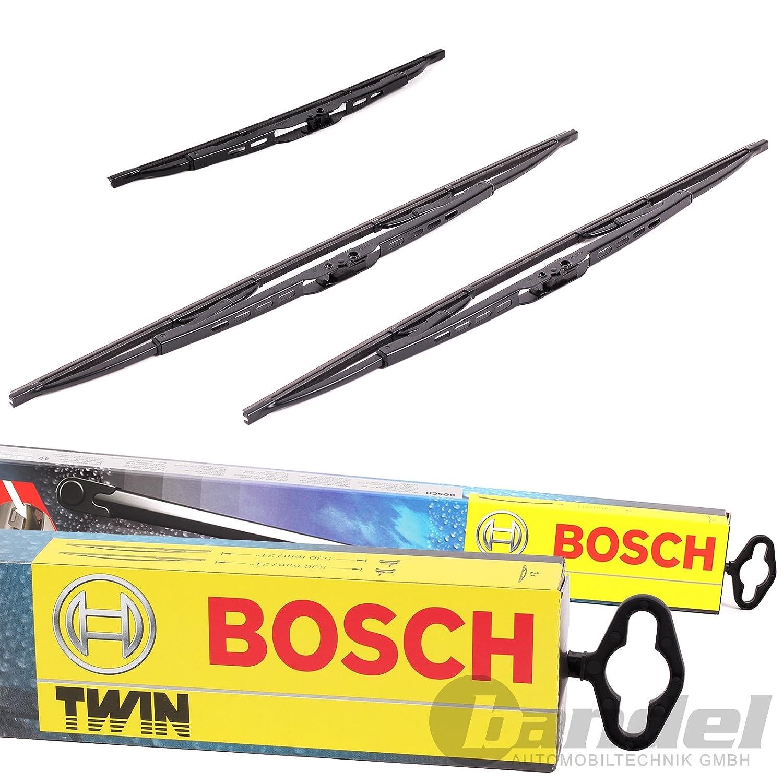 Bosch Twin 606S delantero + trasero Borrador h353 Renault Laguna II Grand Tour: Amazon.es: Coche y moto