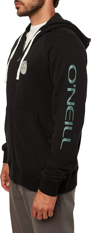 ONEILL Mens Classic Full Zip Front Sweatshirt Hoodie