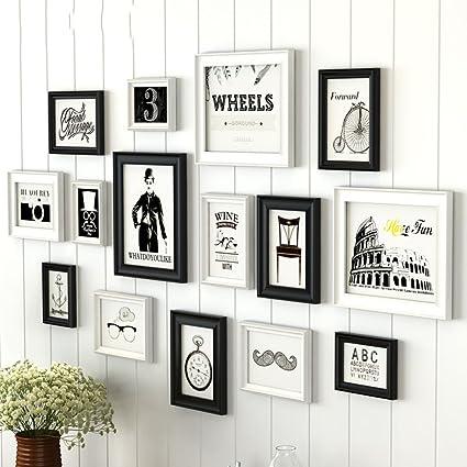Y diseño de montaje en pared Conjuntos de marcos de fotos para la ...