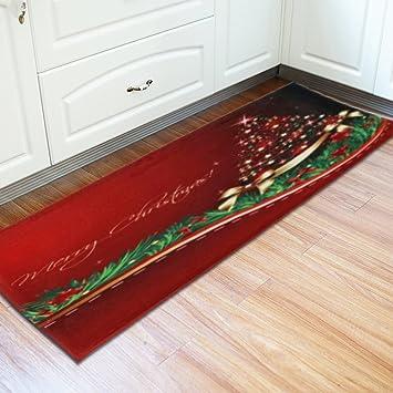 Christmas Area Rugs 8 X 10.Clearance Tuscom 24 X 71 Inch Christmas Floor Entrance Door Carpet Doormats Decor Bathroom Mat
