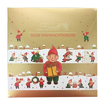 Amazon.com : Lindt Sweet Christmas Helper Pralines 100g : Grocery ...