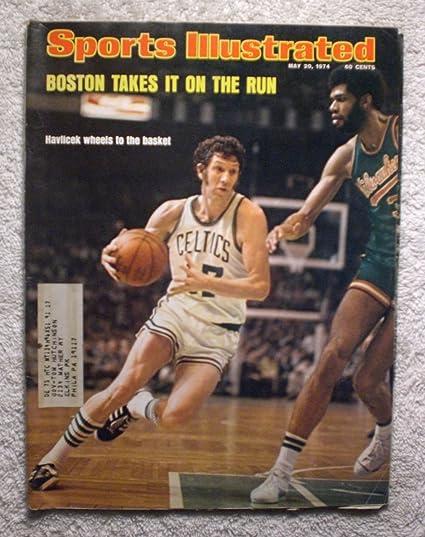 139ac5d389c John Havlicek - Boston Celtics - 1974 NBA World Champions! - Sports  Illustrated - May