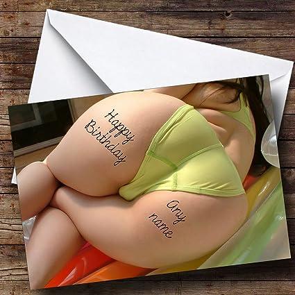 Gran Culo tatuaje personalizado cumpleaños tarjeta de felicitación ...