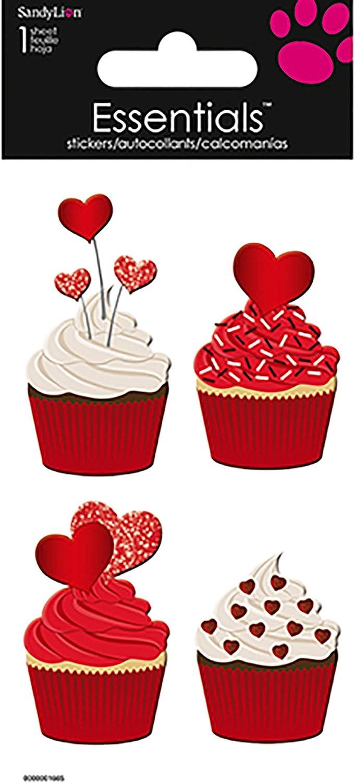 Trends International Valentine Cupcakes Essentials Sticker