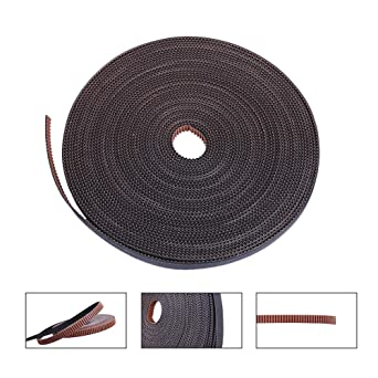 5//10M Rubber 6mm Width GT2 2mm Pitch Timing Belt for Pulley Reprap 3D Printer