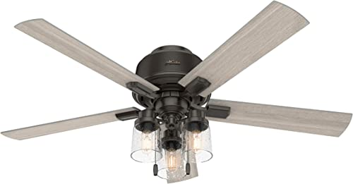 HUNTER 50313 Low Profile Indoor Ceiling Fan