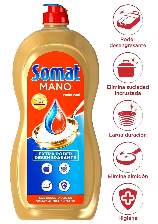 Somat Detergente Gel - 2 Paquetes de 982 gr - Total: 1964 gr ...