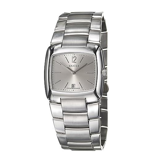 Gucci 8500 YA085304 - Reloj correa de acero inoxidable: Amazon.es: Relojes