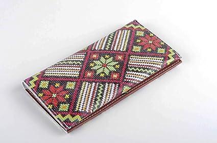Monedero original artesanal de cuero accesorio de moda ...