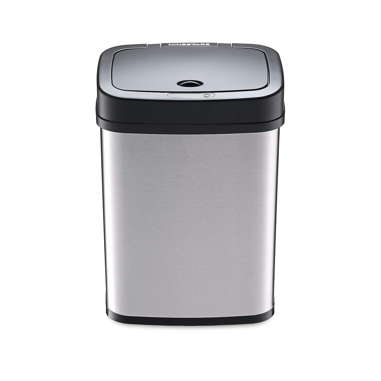 Amazon.com: Ninestars - Papelera con sensor de movimiento ...