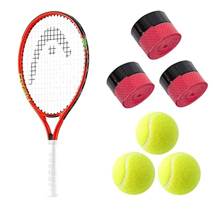 Amazon.com: HEAD Speed Junior Tennis Racquet Starter Kit or ...