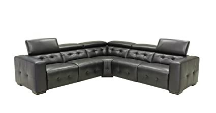 Marvelous Amazon Com Creative Furniture Riley Sectional With Power Creativecarmelina Interior Chair Design Creativecarmelinacom
