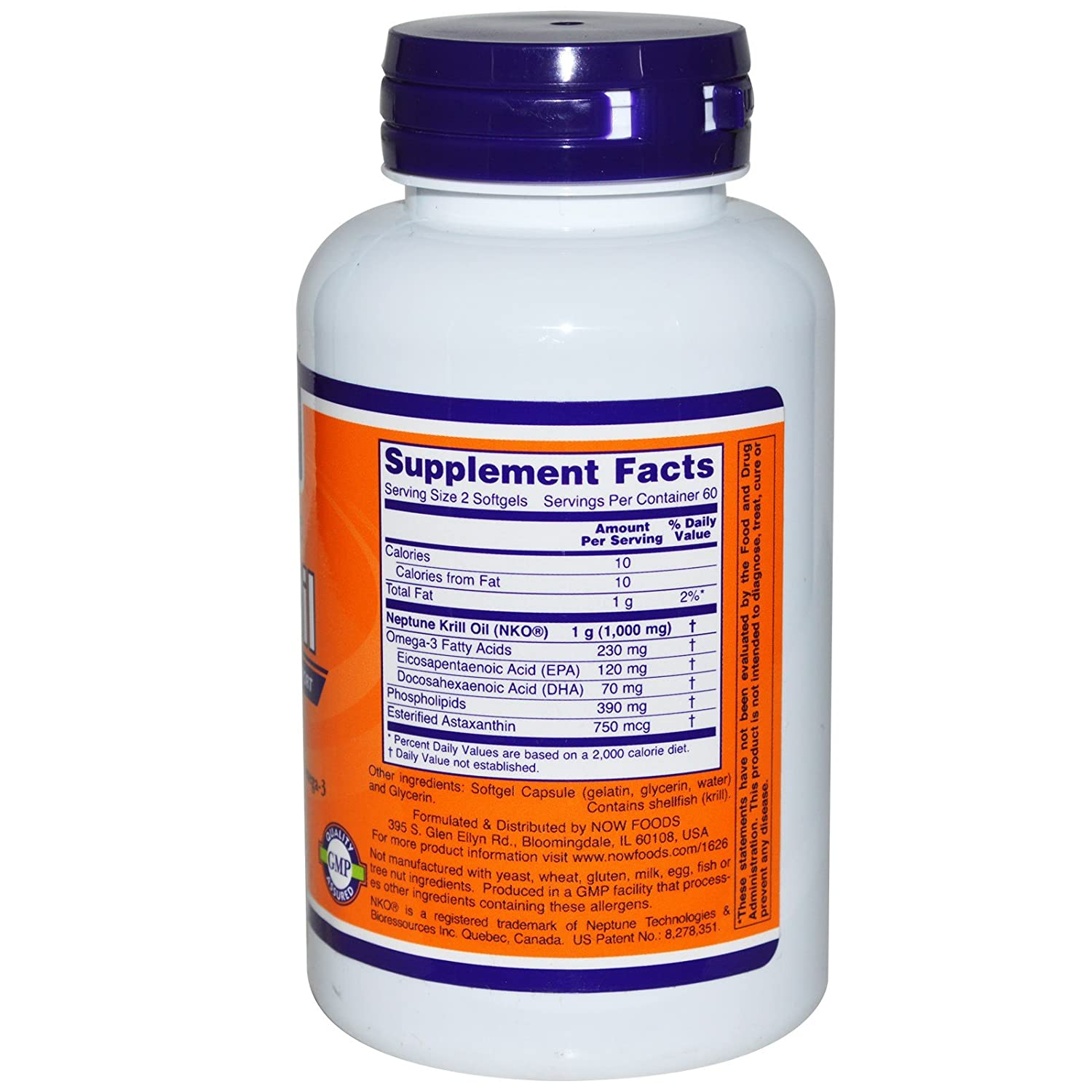 Now Foods Neptune Krill Softgels Image 2