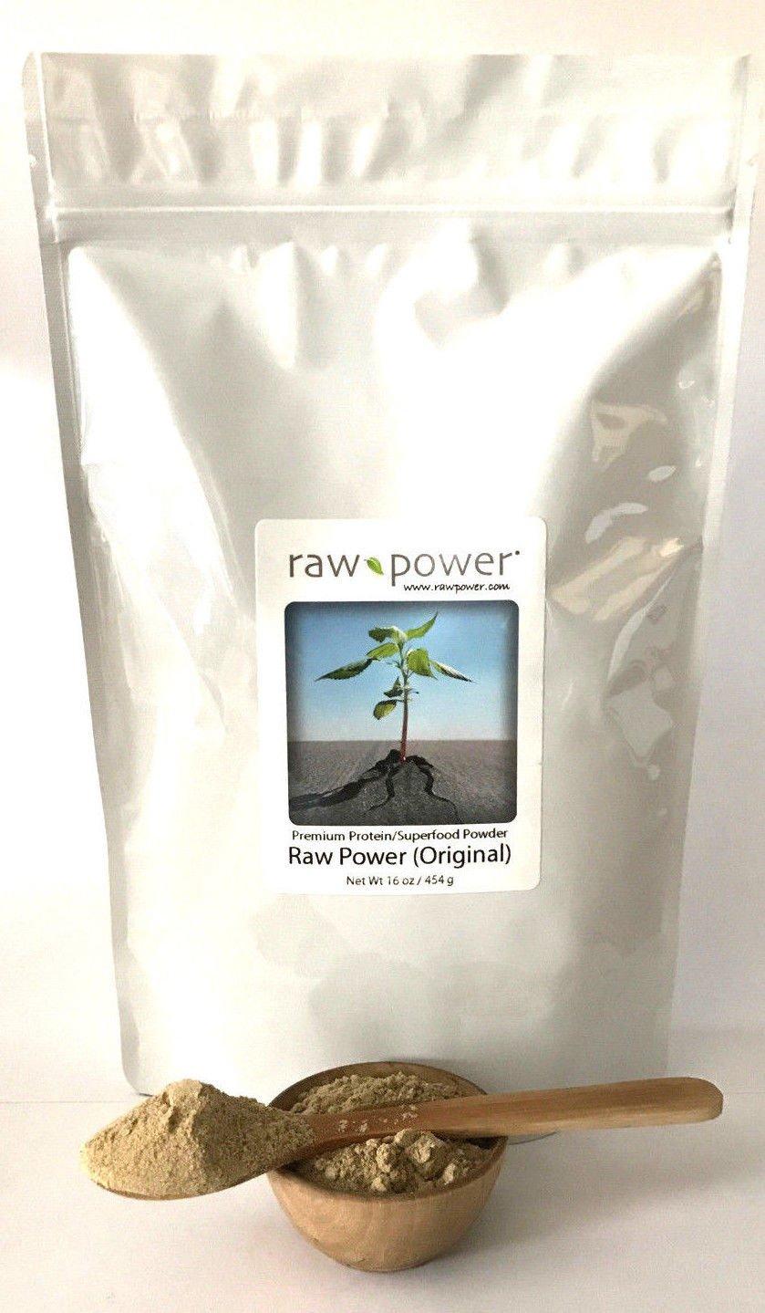 Raw Power Protein Superfood 16 oz, Original Flavor