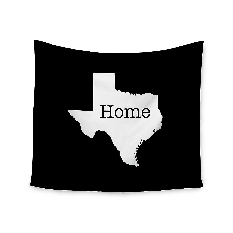 2 x 3 Floor Mat Kess InHouse Bruce Stanfield Texas State Outline Black White Decorative Door