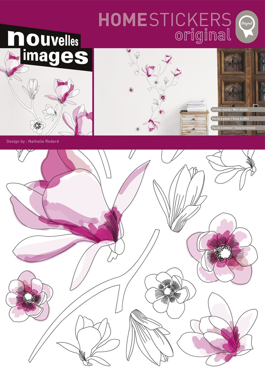 Amazon Home Stickers Host 220 Magnolia Decorative Wall Stickers