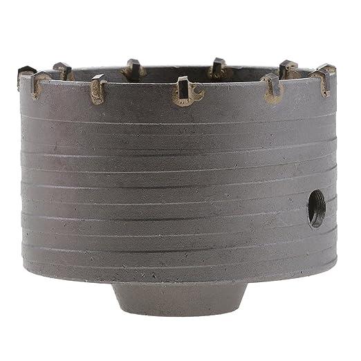Falon Tech Corona de perforaci/ón agujero/ /Broca para sierra perforadora SDS Plus, 80/mm