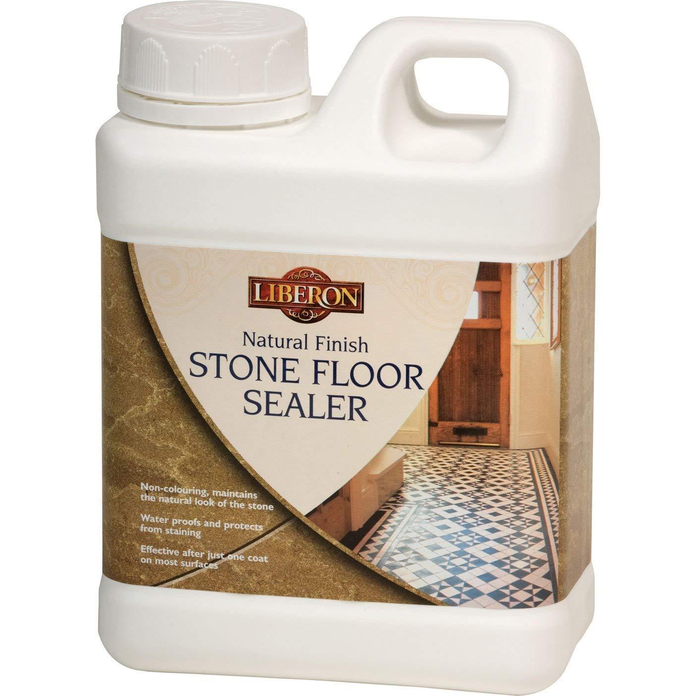 Liberon NFSFS1L 1L Natural Finish Stone Floor Sealer LIBNFSFS1L B001GU4BJE
