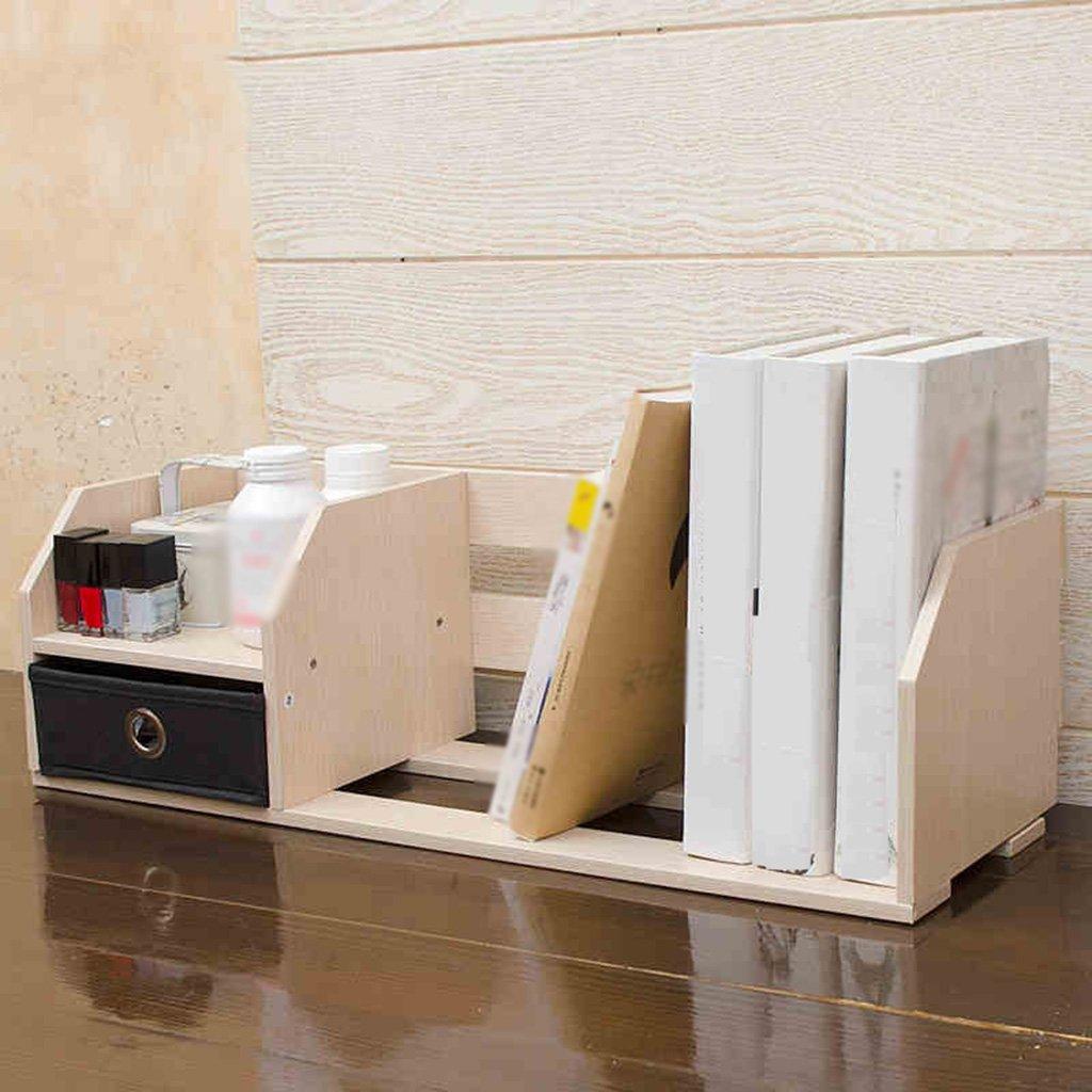 GRJH® テーブル上で本棚棚シンプルな学生のデスクトップ小さな本棚クリエイティブデスクIncorporatedの近代的なシンプルな 防水性と耐久性 B07BS7VXM2