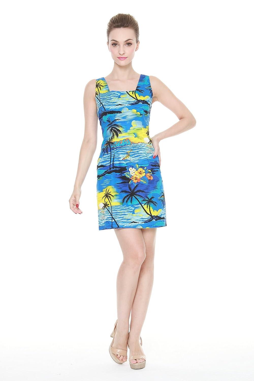 d1b2661a5 Hawaii Hangover Matching Madre Hija Hawaiano Luau Equipo Dama Tanque y Vestir  Vestido de niña PW Puesta del Sol Azul  Amazon.es  Ropa y accesorios