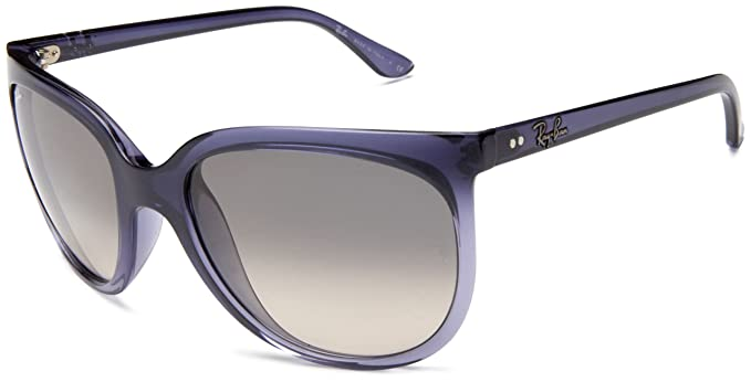 Ray-Ban Cats 1000, Lunettes De Soleil Femme, Violet Frame Grey Gradient aa87be2299be