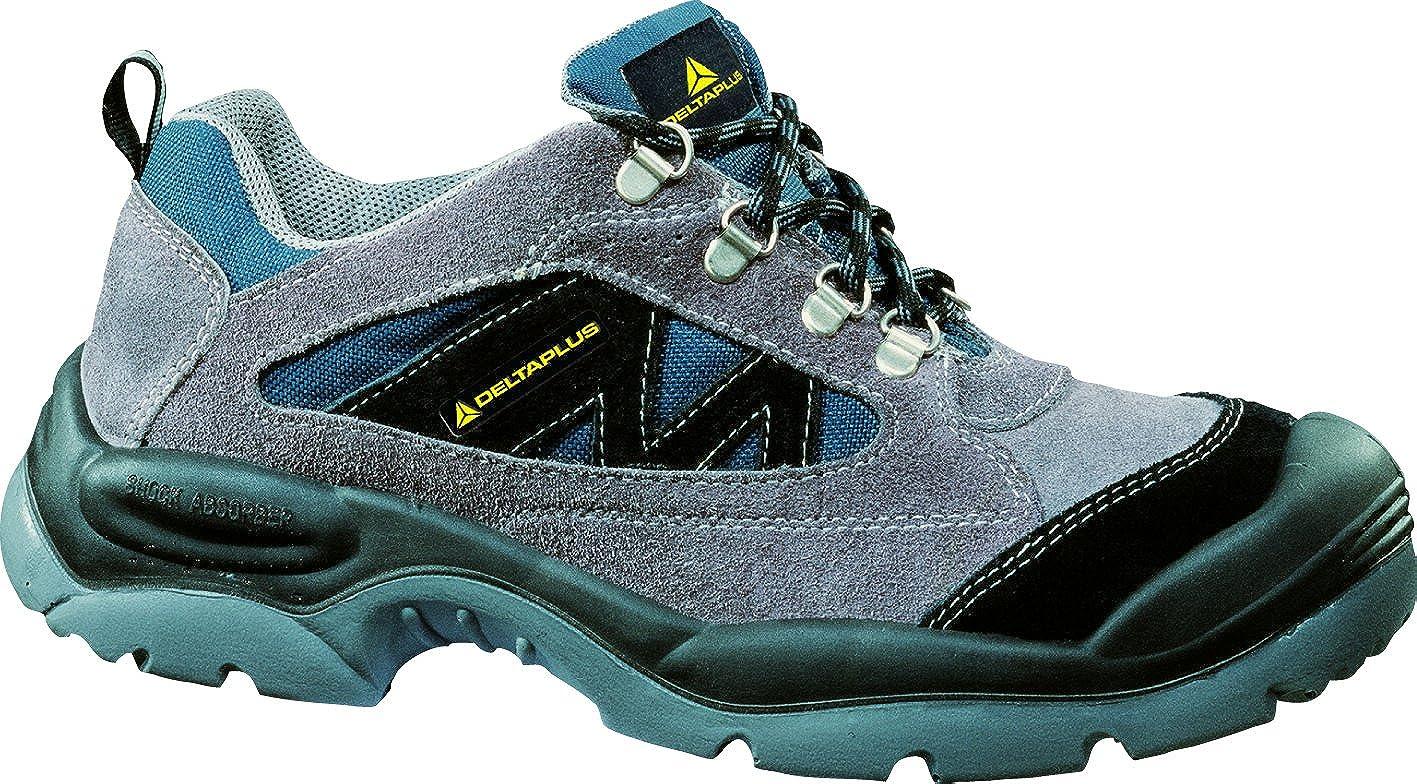 entire collection shop best shoes Amazon.com: Deltaplus Men's Mazan Wide Fit Steel Toe Grey Leather ...