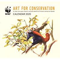 WWF India 2020 Wall Calendar - Art for Conservation