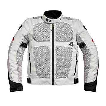 REVIT - Chaqueta Tornado Men - Talla - 56 - Color - Plata-Negro: Amazon.es: Coche y moto