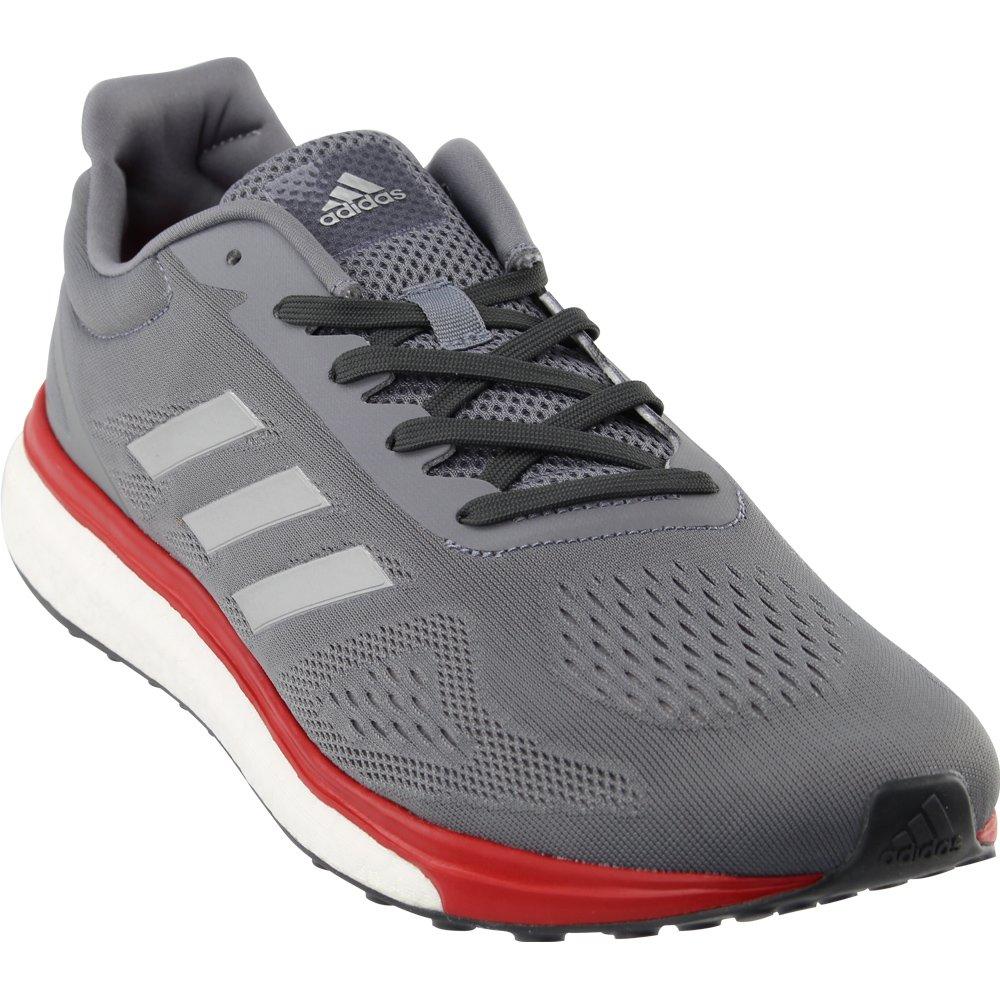a2496e0c4b362c Galleon - Adidas Men s Response LT Grey Silver Metallic Scarlet 13 D US