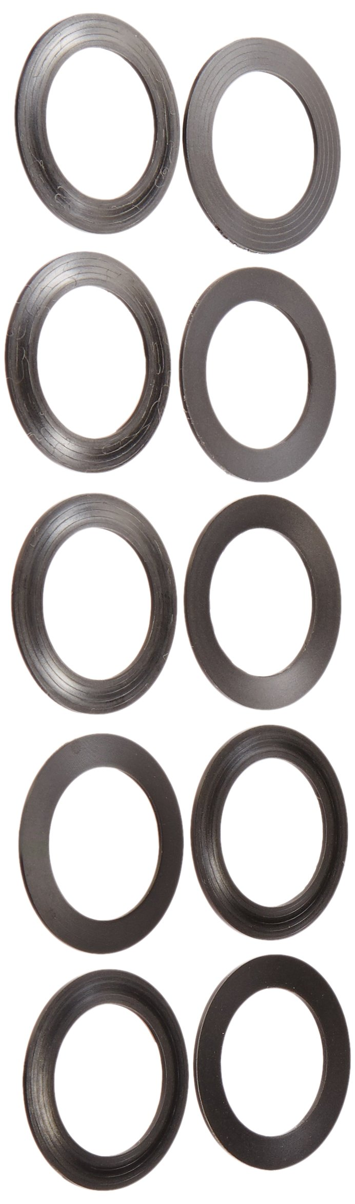 Wheels Manufacturing BB 24mm Spindle Shim Spacers (10-Pack), 1.0mm by Wheels Manufacturing