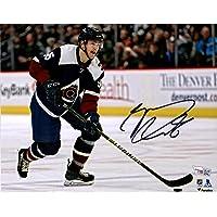 "$44 » Mikko Rantanen Colorado Avalanche Autographed 8"" x 10"" Alternate Jersey Skating Photograph - Fanatics Authentic Certified"