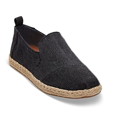 Amazon.com | TOMS Womens Deconstructed Alpargata Espadrille (7) | Loafers & Slip-Ons