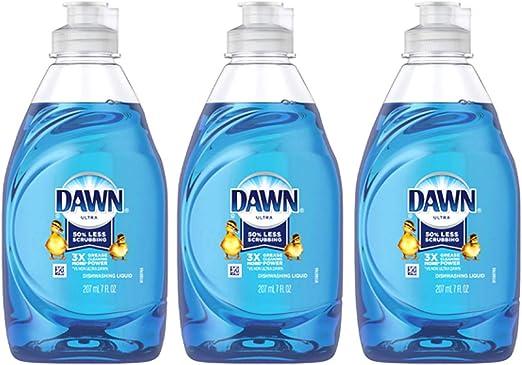 Dawn Ultra 40018 7 Oz Refreshing Rain Platinum Special Value Dishwashing Liquid