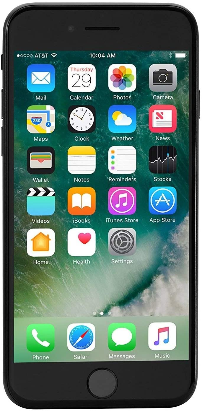 Apple iPhone 7 128GB GSM Unlocked (no CDMA) Smartphone, Black (Renewed)