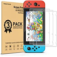 [3 Pack] Hestia Goods Tempered Glass Screen Protector for Nintendo switch - Transparent HD Clear Anti-Scratch Screen…