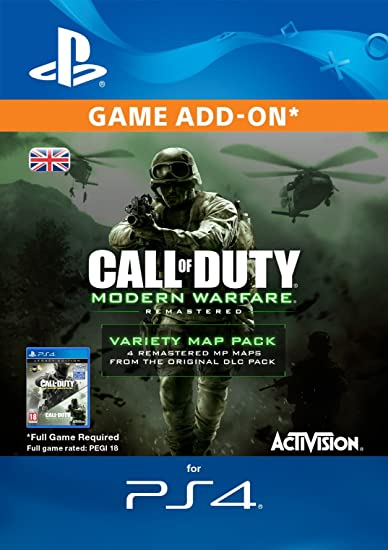 Call Of Duty Modern Warfare Remastered Variety Map Pack Edition